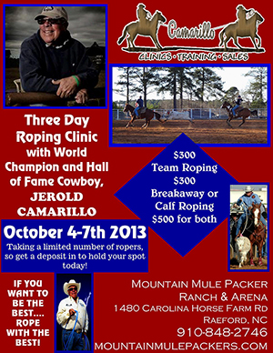 Summer Roping Clinic